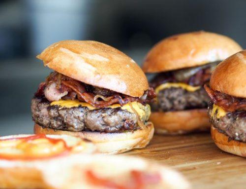 Gewinne einfach 'nen Burger