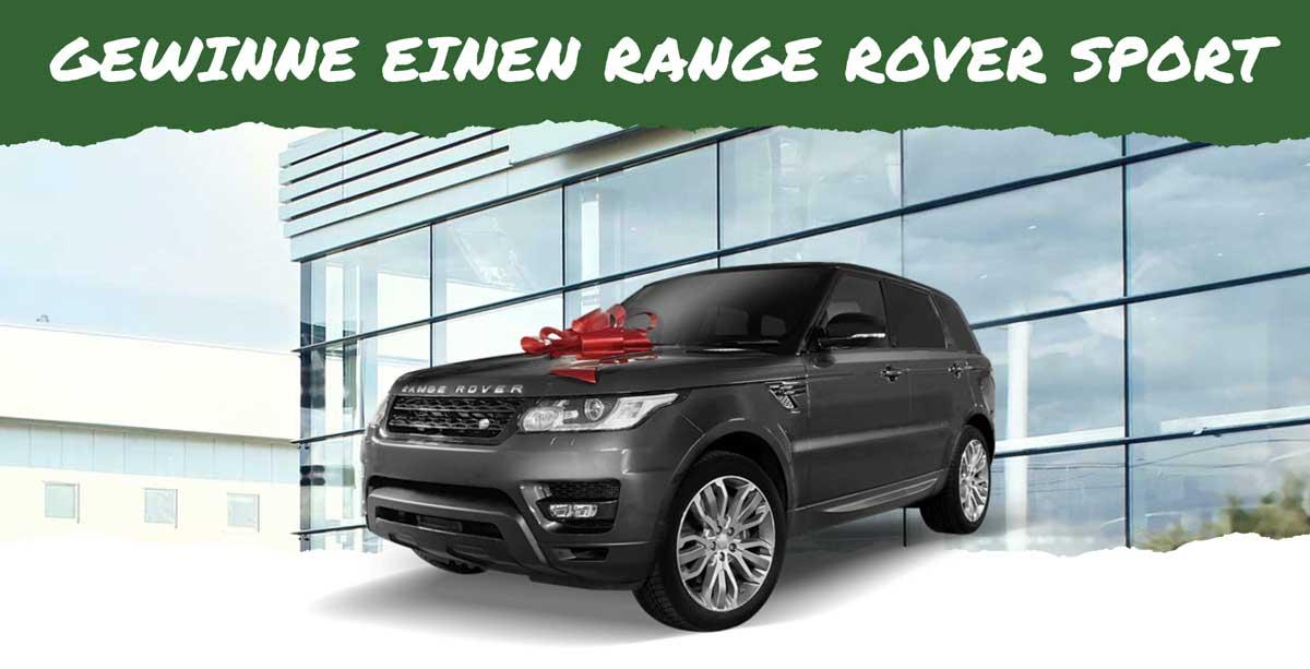 Gewinne einen Range Rover Sport