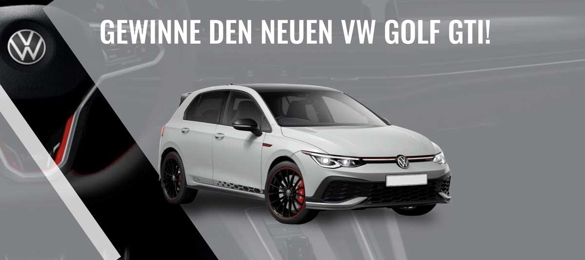 VW Golf GTI gewinnen